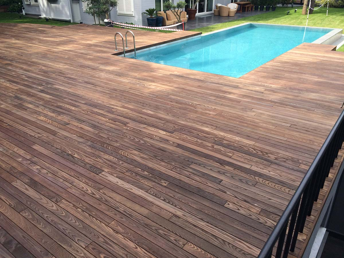 Decking termo frasin Thermory